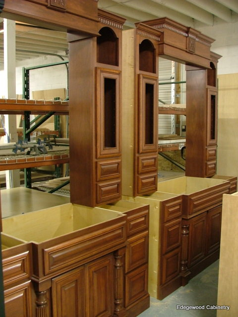 cherry vanity master bath-edgewood cabinetry