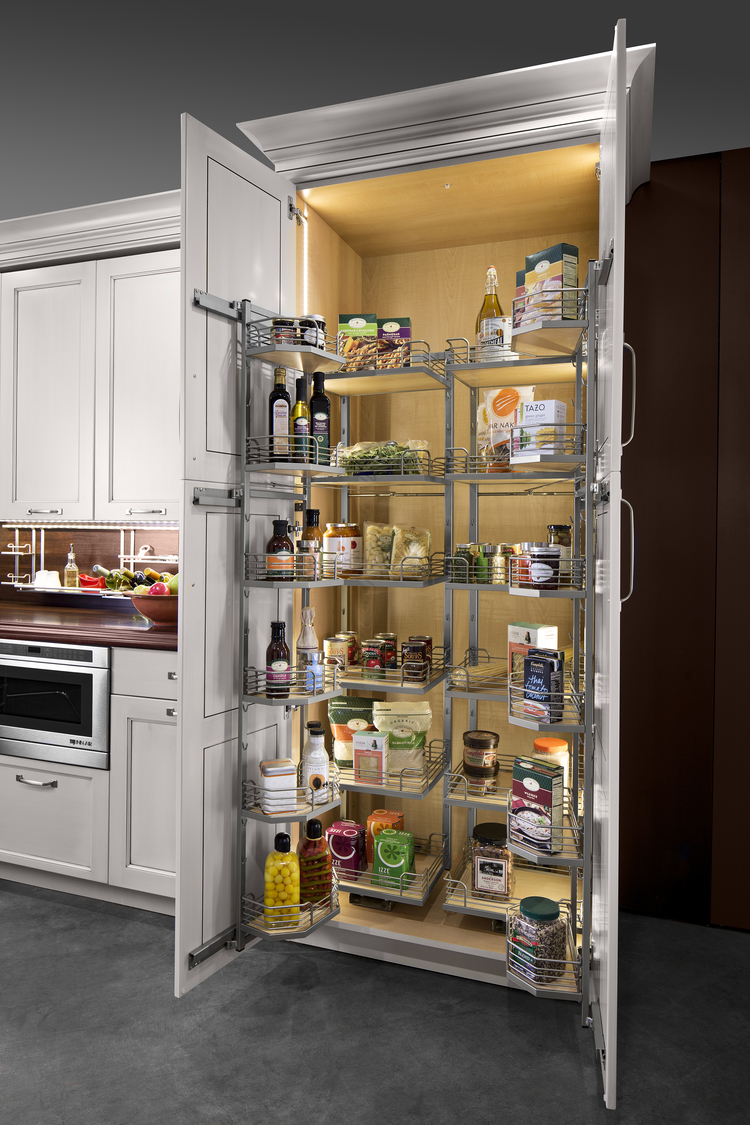 Kesseböhmer storage solutions for the ultimate kitchen-edgewood cabinetry
