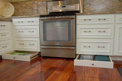 toe kick drawers-toe kick storage-edgewood cabinetry-clayton nc