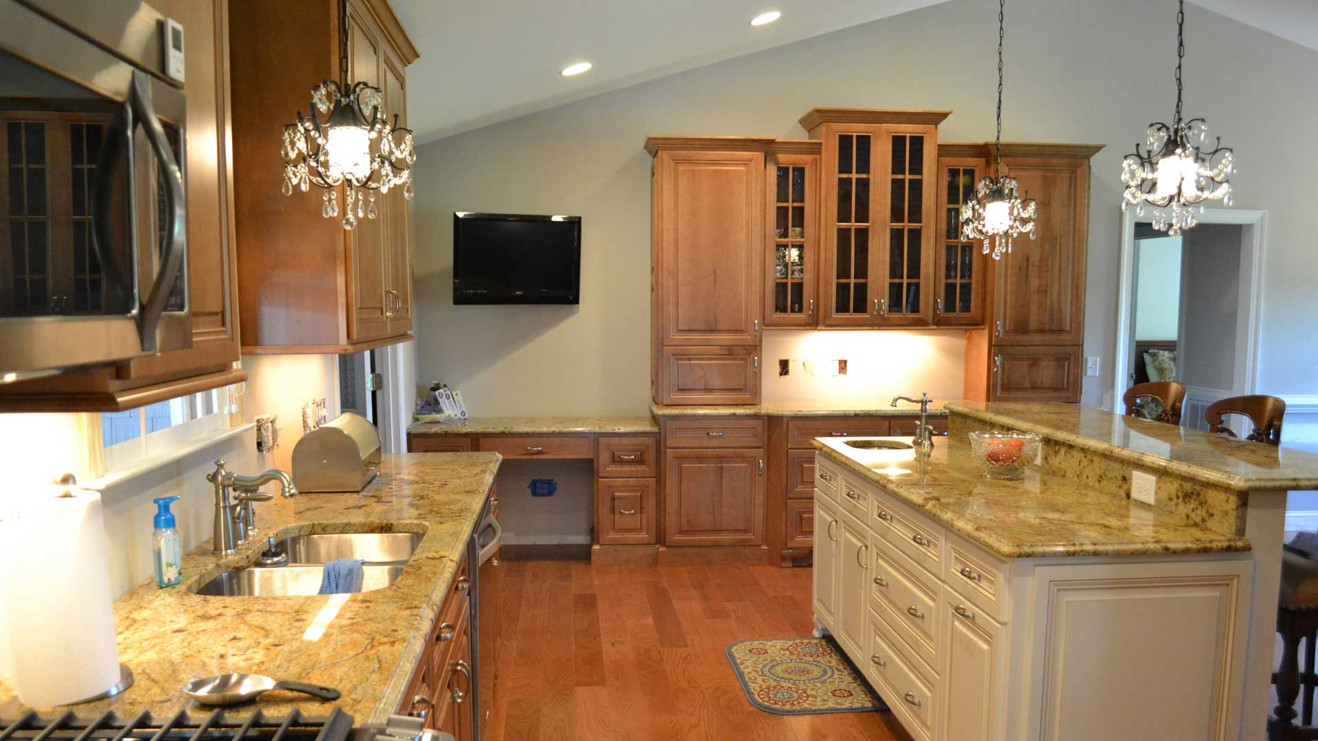 Hd Supply Kitchen Cabinets Edgewood Cabinetry Custom Wood Cabinets Raleigh Nc