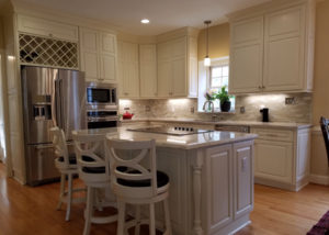 off white kitchen remodel raleigh nc-edgewood custom cabinetry