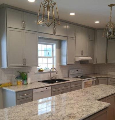 gray vs white shaker cabinets-edgewood custom cabinetry-clayton nc