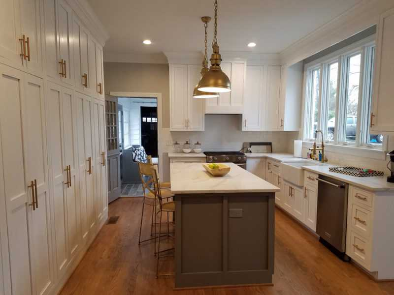 modern farmhouse kitcen-edgewood cabinetry-clayton nc