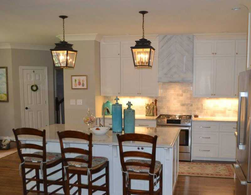 lighting up your kitchen-edgewood custom cabinetry-clayton nc