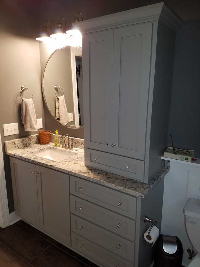 bathroom remodeling trends-edgewood custom cabinetry- clayton nc