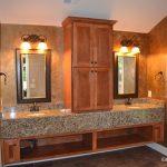floating double vanity edgewood cabinetry