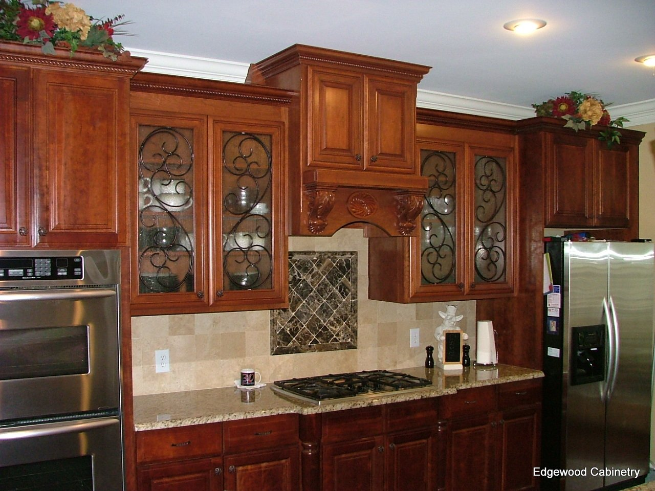 How Glass Front Cabinets Can Enhance Your Kitchen Edgewood Cabinetry