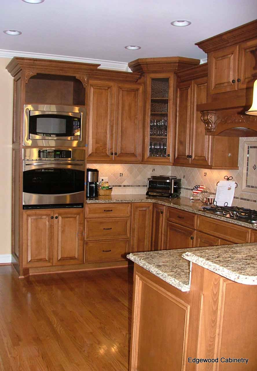 custom maple cabinets