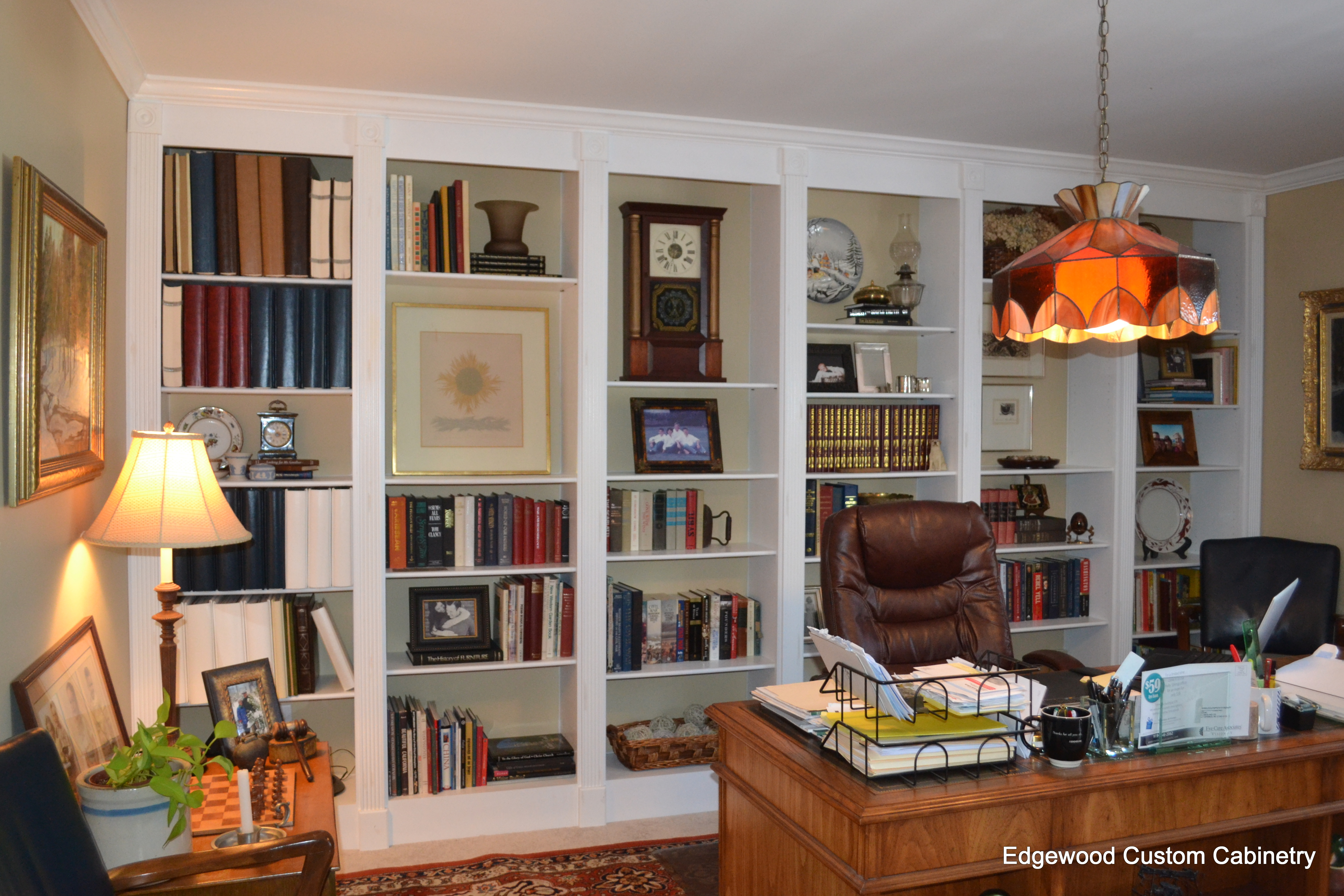 home office-edgewood cabinetry