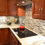 glass backsplash-edgewood cabinetry