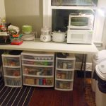 temporary kitchen for remodel-edgewood cabinetry