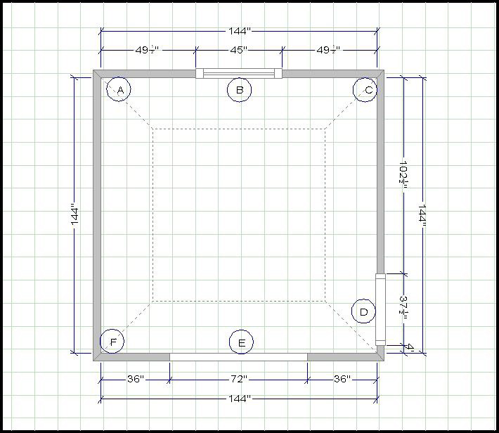 kitchen layout-edgewood cabinetry