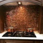 copper backspalsh-edgewood cabinetry