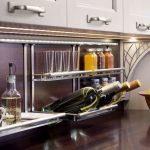 kitchen backsplash rail system hafele edgewood cabinetry