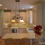 kitchen island-peninsula-edgewood cabinetry