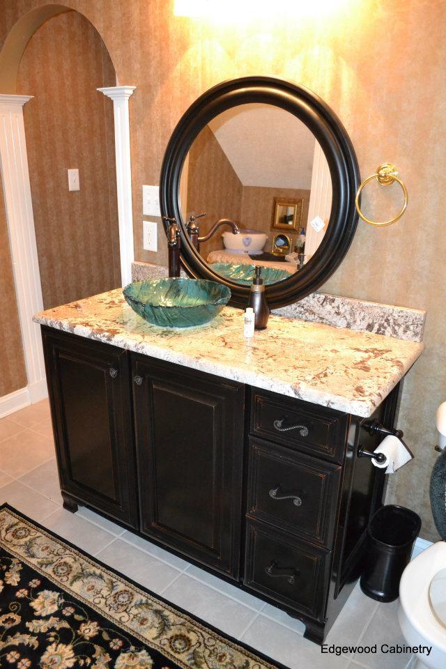bathroom vanity-edgewood cabinetry