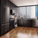 edgewood cabinetry-black stainless