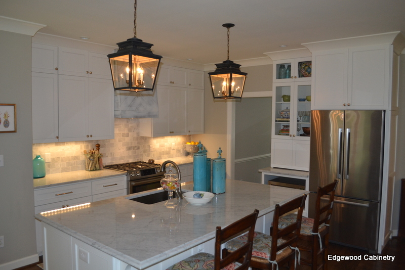 kitchen remodel-edgewood cabinetry