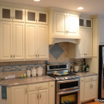custom wood hood-edgewood cabinetry