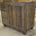 distressed-glazed-stained-vanity-edgewood cabinetry