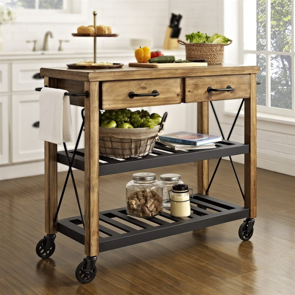 kitchen island cart-edgewood cabinetry-raleigh nc