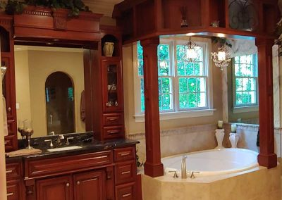 Custom cabinets bathroom vanity
