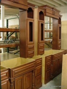 custom bathroom cabinets vanity cherry