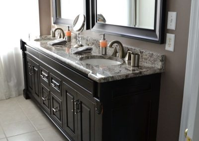 custom bathroom cabinets vanity elegant
