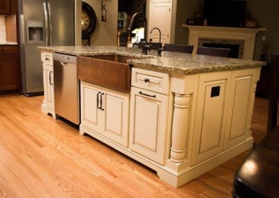 custom cabinetry scanlon kitchen island