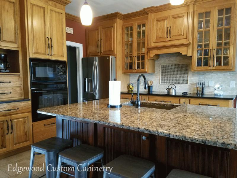 custom-cabinets-and-mahogany-kitchen-island-Clayton-NC