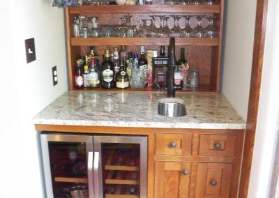 custom designed cabinetry