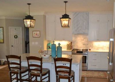 custom kitchen cabinet remodel raleigh