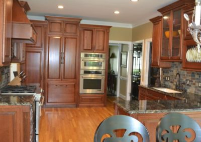 custom kitchen remodel custom cabinets
