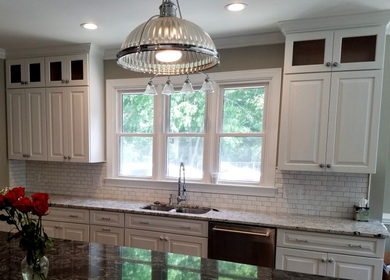 custom perimeter kitchen cabinets
