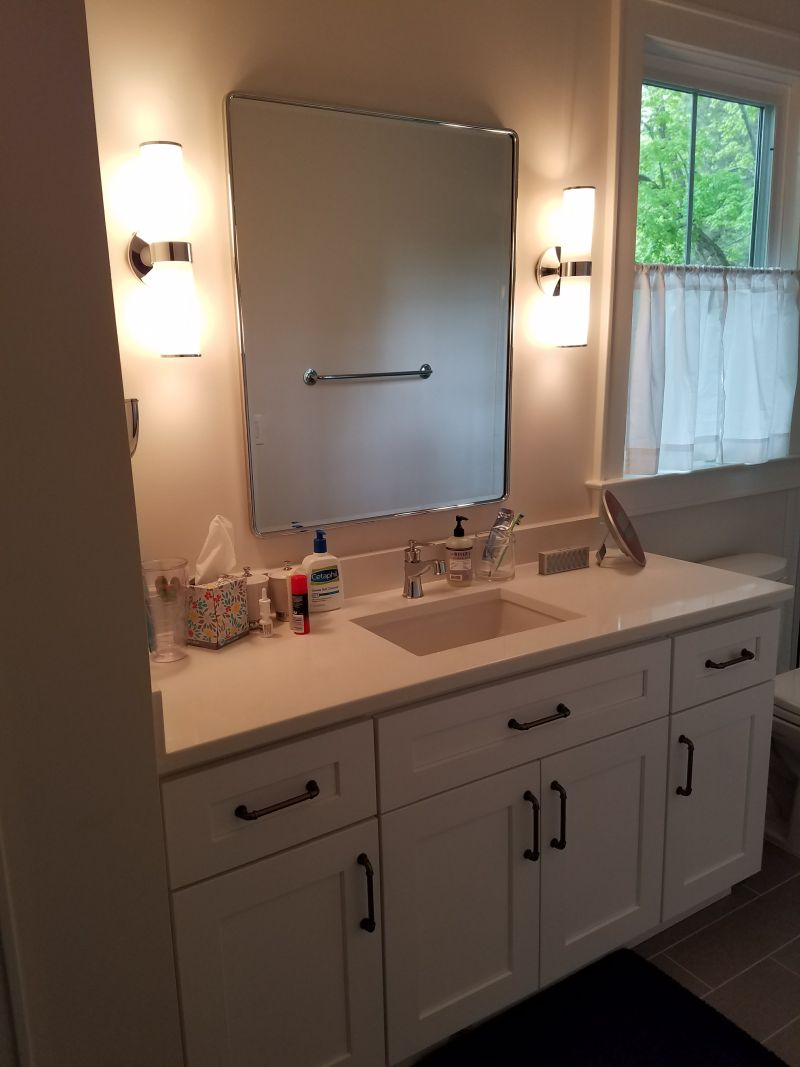 Custom vanities custom bathroom cabinets