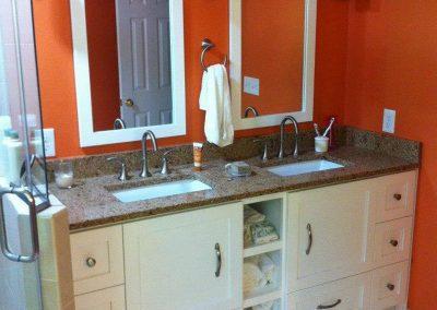 custom vanity rollout shelves