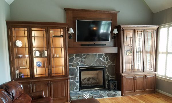 Living Room Built Ins