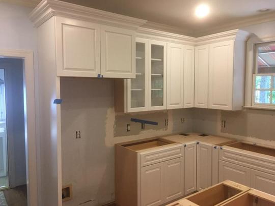 refrigerator cabinet end panel