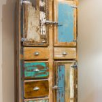 Vintage style custom kitchen cabinet
