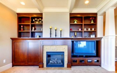 Benefits Of Built-In Living Room Cabinets